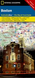 Boston, Massachusetts DestinationMap by National Geographic Maps