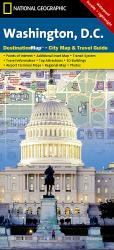 Washington D.C. DestinationMap by National Geographic Maps