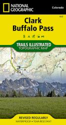 Clark and Buffalo Pass, Colorado, Map 117 by National Geographic Maps