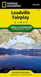 Leadville and Fairplay, Colorado, Map 110 by National Geographic Maps