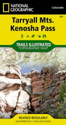Tarryall Mountains and Kenosha Pass, Map 105 by National Geographic Maps