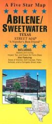 Abilene and Sweetwater, Texas by Five Star Maps, Inc.