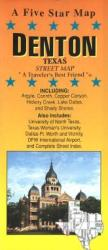 Denton, Texas by Five Star Maps, Inc.
