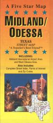 Midland and Odessa, Texas by Five Star Maps, Inc.
