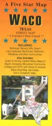 Waco, Texas by Five Star Maps, Inc.