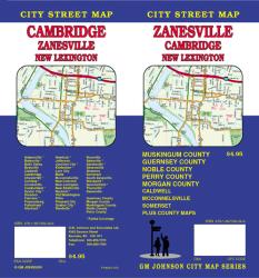 Zanesville, Cambridge and New Lexington, Ohio by GM Johnson