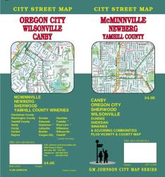 McMinnville, Newberg, Oregon City, Canby, Wilsonville and Yamhill County, Oregon by GM Johnson