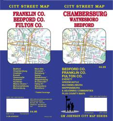 Chambersburg, Bedford, Franklin and Fulton County, Pennsylvania by GM Johnson