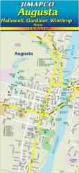 Augusta, Maine, Quickmap by Jimapco