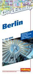 Berlin, Germany City Flash Map by Hallwag