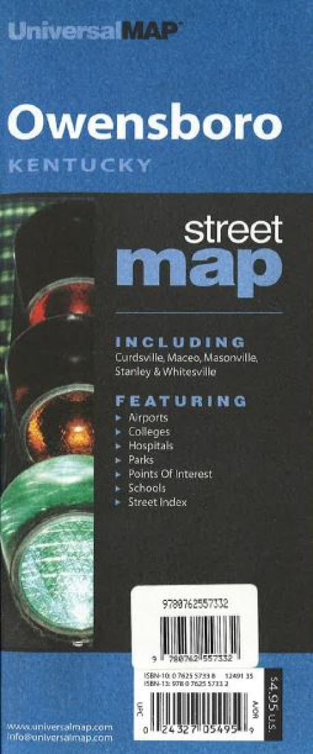 Owensboro kentucky by kappa map group publicscrutiny Choice Image