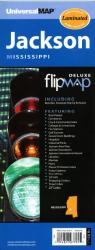 Jackson, Mississippi, Flipmap Deluxe by Kappa Map Group