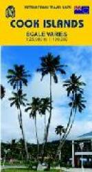 Cook Islands Travel Map by International Travel Maps