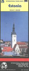 Estonia Travel Map by International Travel Maps