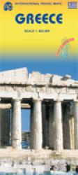 Greece Travel Map by International Travel Maps