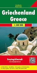 Greece by Freytag-Berndt und Artaria