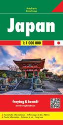 Japan by Freytag, Berndt und Artaria