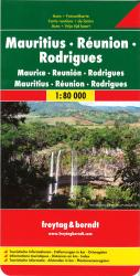 Mauritius, Reunion and Rodrigues by Freytag-Berndt und Artaria
