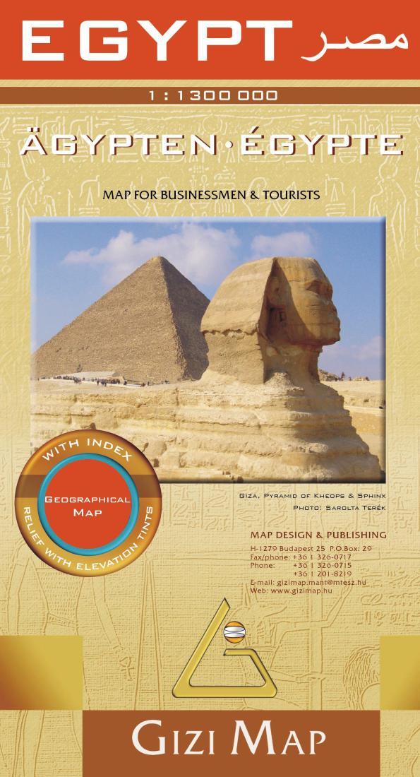 Egypt geographical map by gizimap gumiabroncs Gallery