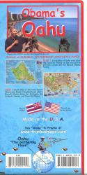 Obama's Oahu Guide Map by Frankos Maps Ltd.