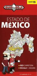 Mexico, Mexico, State Map by Guia Roji