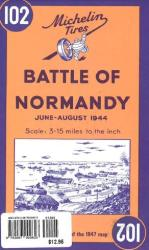 Battle of Normandy, 1944 Reproduction (102) by Michelin Maps and Guides
