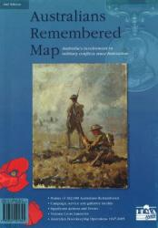 Australians Remembered Map by Hema Maps