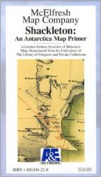 Antarctica, Shackleton Map Primer by McElfresh Map Co.