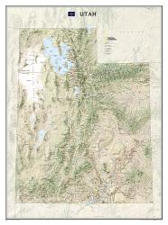 Utah, tubed by National Geographic Maps