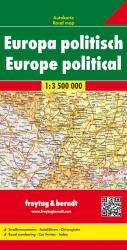 Europe, Political by Freytag-Berndt und Artaria