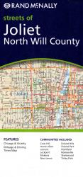 Joliet and North Willmette County, Illinois by Rand McNally