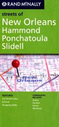 New Orleans, Hammond, Ponchatoula and Slidell, Louisiana by Rand McNally