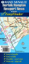 Norfolk and Hampton, Virginia, EasyFinder by Rand McNally