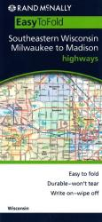 Milwaukee and Madison, Wisconsin, EasyFinder by Rand McNally