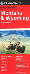 Montana and Wyoming by Rand McNally