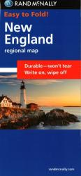 New England, Easy to Fold by Rand McNally