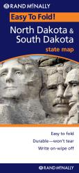 North and South Dakota, Easy to Fold by Rand McNally