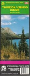 Thompson and Cariboo Region, Canada by International Travel Maps