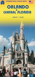 Orlando & Central Florida Travel Map by International Travel Maps