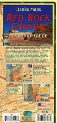 Franko's Map of Red Rock Canyon by Frankos Maps Ltd.