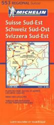 Switzerland, Southeast (553) by Michelin Maps and Guides