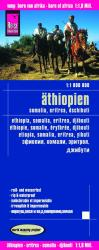 Ethiopia, Somalia, Eritrea and Djibouti by Reise Know-How Verlag