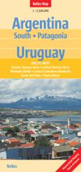 Argentina, Southern, Patagonia, and Uruguay by Nelles Verlag GmbH