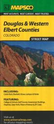 Douglas and Western Elbert, Colorado by Kappa Map Group