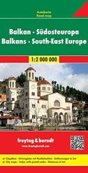 Balkans and Southeast Europe by Freytag, Berndt und Artaria