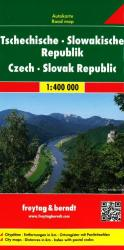 Czech and Slovak Republics by Freytag-Berndt und Artaria