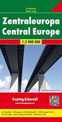 Europe, Central by Freytag-Berndt und Artaria