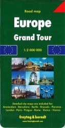 Europe, Grand Tour by Freytag-Berndt und Artaria