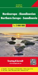 Europe, Northern, and Scandinavia by Freytag-Berndt und Artaria