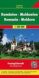 Romania and Moldova by Freytag, Berndt und Artaria